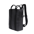 tyvek and washable kraft paper black backpack