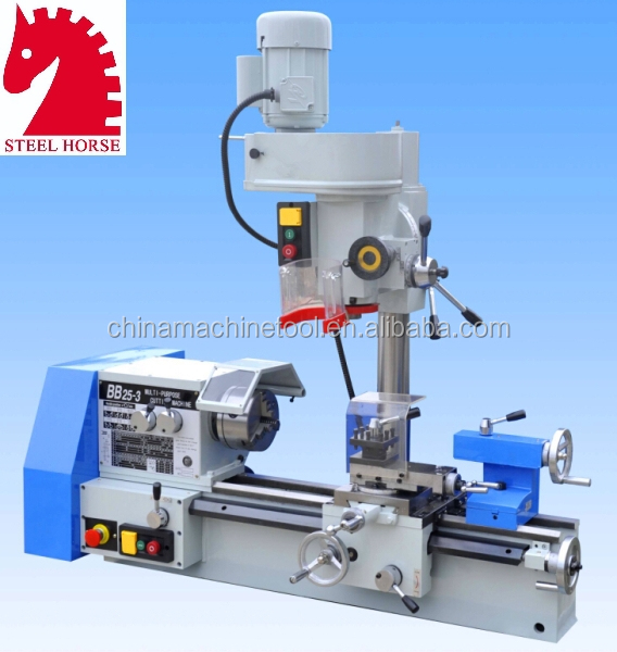 CQ6125C Performance combination lathe milling machine