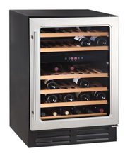 46 bottle Thermoelectric Dual Zone Wine Cooler