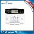 Factory Made Sensitive LCD Smart Burglar Alarm System with Widely Usage