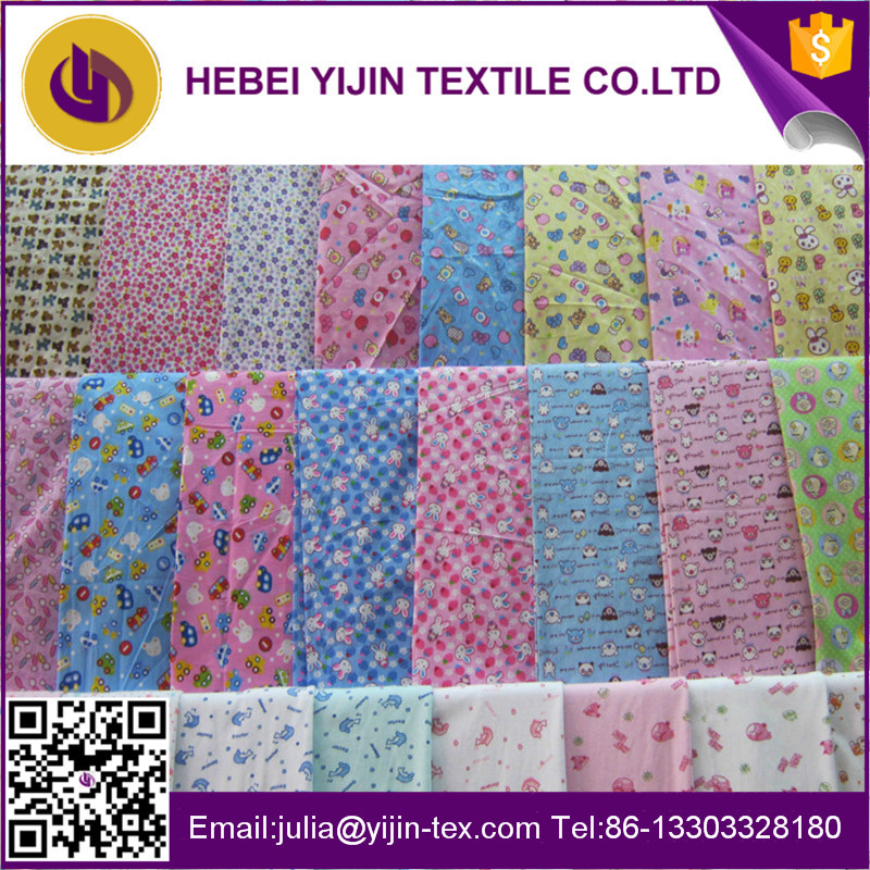 custom printed cotton flannel fabric for shirting no collar