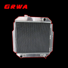2 Roll auto Full aluminum radiator custom for Ford Falcon XL XM XP AT