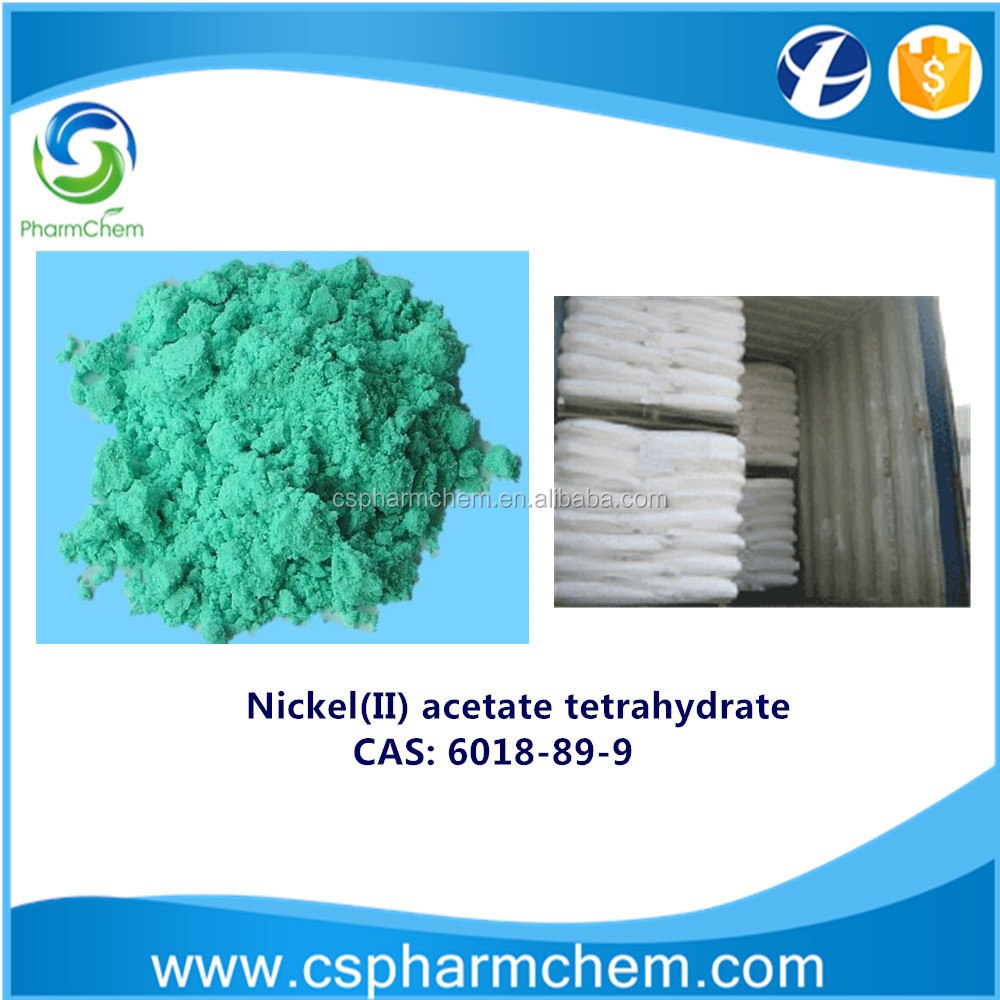 Nickel Acetate / Nickel acetate tetrahydrate / CAS 6018-89-9