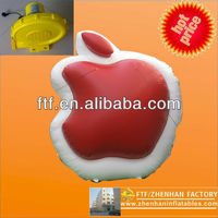 FPS063 New advertising inflatable apple for iphone