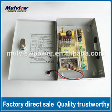 12V4A 4 channels cctv power supply, for access control, cctv system, dvr, CE, IEC ceritifcate, two years warranty, OEM offrer
