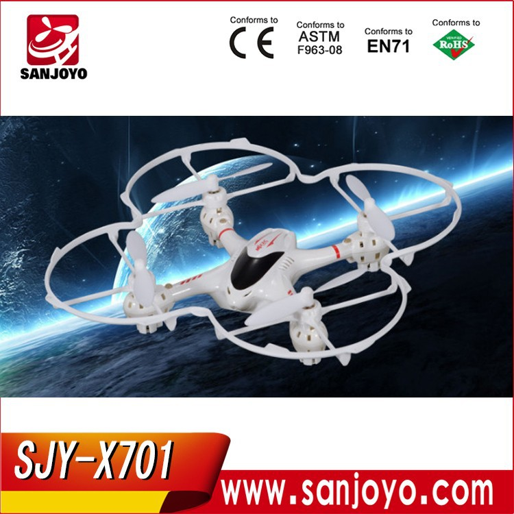 TOP quadcopter drone MJX X701 2.4G 6-Axis rc helicopter with Gravity Control Mode RTF