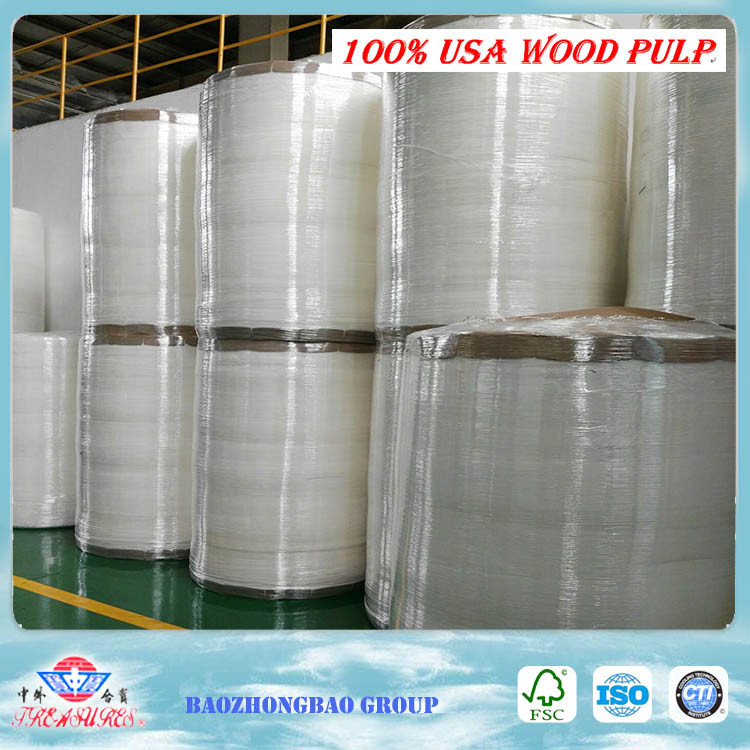 virgin wood pulp roll airlaid paper absorbent pads for ink