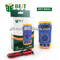 BEST-B830L mastercraft digital multimeter manual