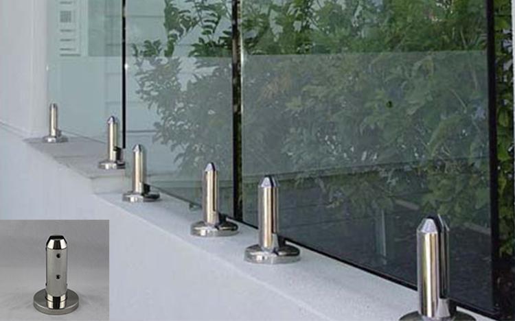 Glass Railing Support Frameless Glass Fittings Balcony