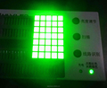 cc,ca super green 7x5 dot matrix square led display
