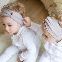 Wholesale Hot Sale Cheap Lovely Cotton Baby Hair Accessories Headband