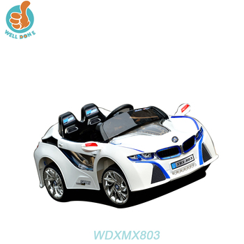 WDXMX803 4 Wheel Children Manual Ride On Car Rubber Tires With Multifunction Baby Car Seat Stroller