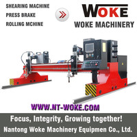 WOKE Iron/Stainless Steel Precision CNC Plasma Cutting Machine, CNC Plasma Cutter, Metal Plasma Cutter