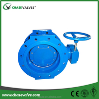 2015 China double offset butterfly valve design for sale