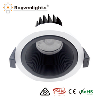Factory wholesale cob 10 watt downlight Dimmable10 W LED COB Down Light SAA CE RoHS 15w led kit