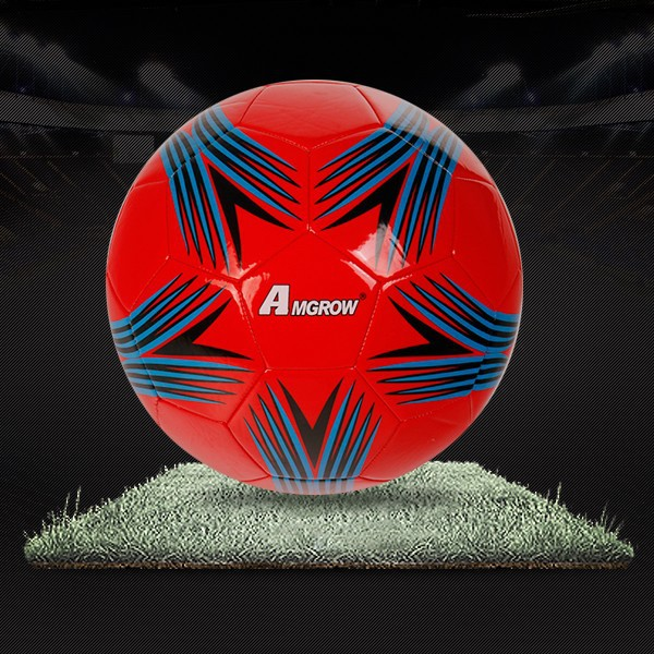 Official size and weight size 5 new design soccer,Machine sewn soccer ball