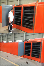 Briquette net belt dryer / Coal lumps net belt dryer / Tunnel drying machine