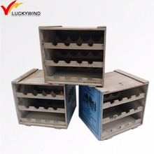 cheap used wooden wine crates for sale