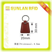 Custom leather rfid remote magnetic key fob(high quality)
