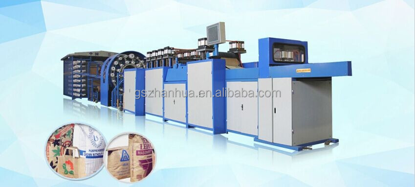 CE, ISO, Cement Paper Bag Making Machine for different size valve multi-layer paper bags, with free overseas service,