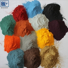 Electrostatic spray thermosetting powder coating