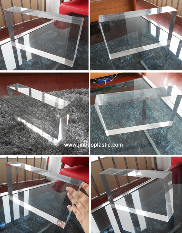 Thick clear acrylic glass sheets for aquarium price