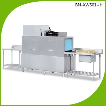 Automatic Tunnel type dishwasher/Conveyor Type Dishwasher for restaurant