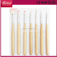 Wholesale price nails beauty tool nails manicure acrylic nail brush sets
