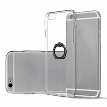 new product cell phone holder ring phone case custom silicone cover transparent case for phone