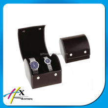 Wholesale Elegent Design Luxury Wooden Velvet Interior Two Watch Box