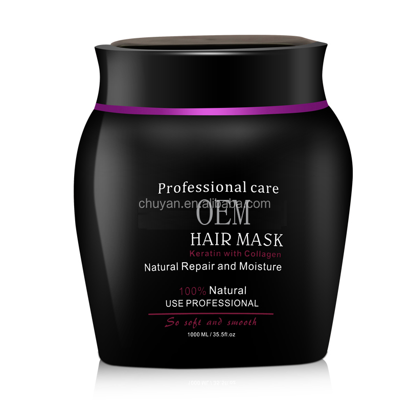Keratin & collagen hair mask for damaged hair 1000ml