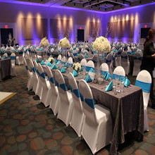 wedding/banquet/hotel spandex chair seat covers for sale