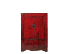 Chinese Wood Cabinet Antique Wedding Wardrobe