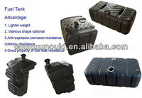 LLDPE plastic diesel tank for truck ,customize diesel tank by rotational mold