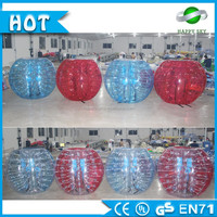Inflatable half color beach soccer bubble,Body bubble bumper ball with LOGO,Bubble ball for football for PVC/TPU