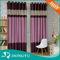 New Product Top quality European Style Ready made fancy curtains with embroidery