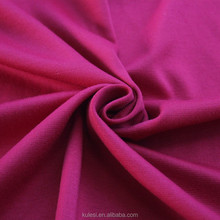 China suppliers 40S rayon nylon spandex knitted roma fabrics suits 380/400/420GSM cheap healthy and Pilling Resistance