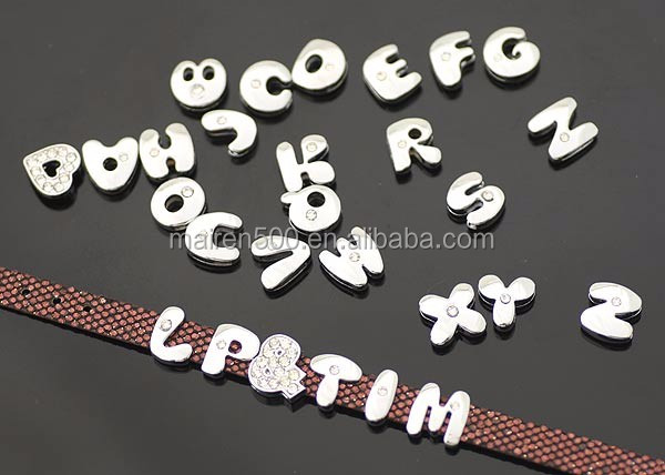 mother's day gift DIY letter bracelet