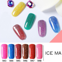 Our Gel Your Brand 21Colors Soak Off UV /LED Lamp Rainbow Gel Nail Polishes Lacquer Gloss Matt OEM/ODM Gel Polish
