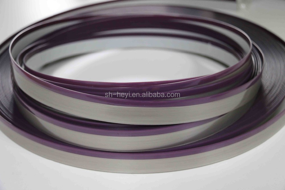 various color and size material acrylic bicolor pvc edge banding