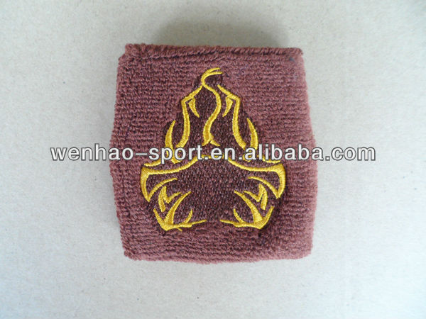 Promotional Gifts Sweat absorb Sport terry toweling cotton custom knit wristbands