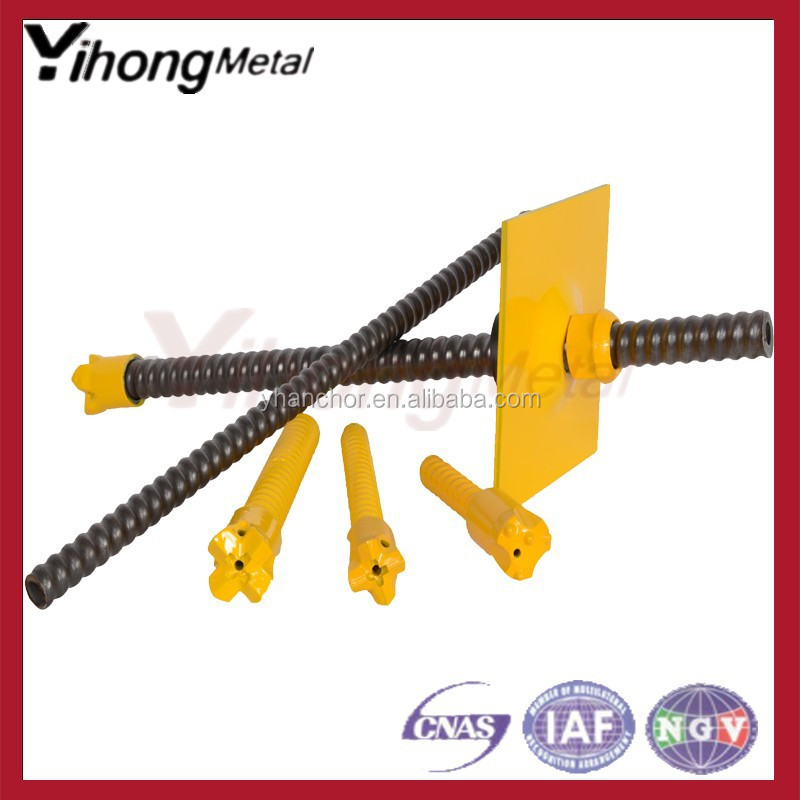T76 R51 self drilling anchor / hollow rock bolt / anchor coupling /