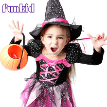 Hot Sale Masquerade Party Cosplay Dress Witch Clothing wholesale Halloween Costume for Girls