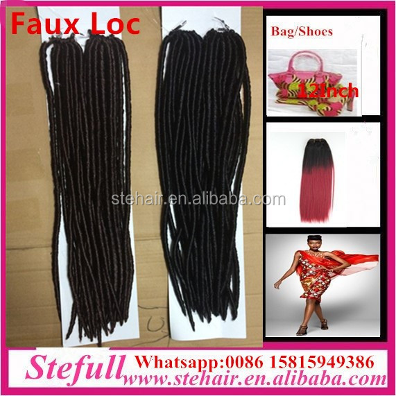 Stefull hair good quality no tangle japanese fiber kings and kings hair products