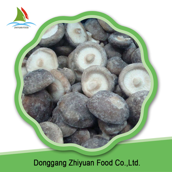 High Quality Frozen Sliced Shiitake Mushroom