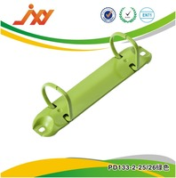 green colored office metal paper clip for office