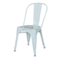 Factory Direct Sale Antique Stacking Metal Bistro Chair