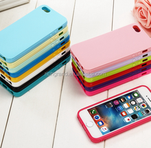 Wholesale Solid Candy Color soft TPU Case for iPhone 5 5S SE