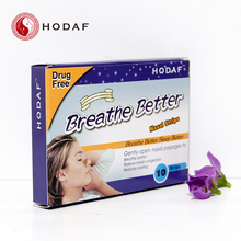 FDA certificate breath right and reduce snore nose strips nasal plaster