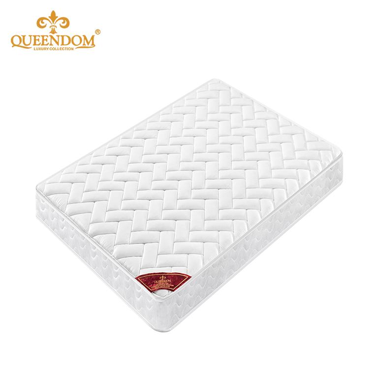 Single foam knitted fabric bonnell spring mattress for hotel - Jozy Mattress | Jozy.net